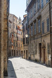 Street of Macerata Royalty Free Stock Images