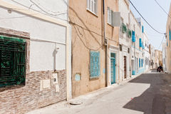 Street in Mahdia Royalty Free Stock Photo