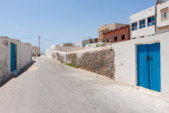 Street in Mahdia Stock Photography