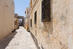 Street in Mahdia Royalty Free Stock Photos