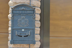 Street mailbox Royalty Free Stock Photography
