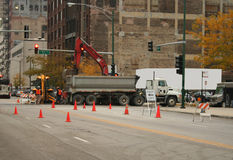 Street maintenance Stock Images