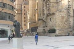 Street in Malaga, Spain Royalty Free Stock Image