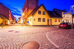 Street in Malmo, Sweden Royalty Free Stock Photos