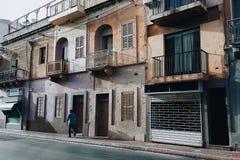 street in malta royalty free stock image
