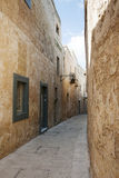 Street on malta Stock Photography