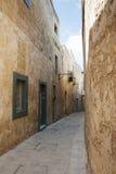 Street on malta Stock Photography