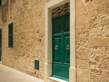 Street in Maltese Mdina Stock Photos