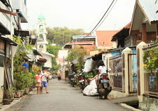 Street of Manado Stock Photography