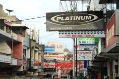 Street of Manado Stock Photography