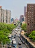 Street in Manhattan royalty free stock photos