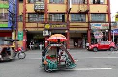 Street in Manila, Philippines Stock Image