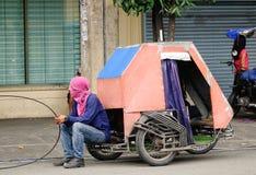 Street in Manila, Philippines Stock Photos