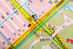 Street map Royalty Free Stock Images