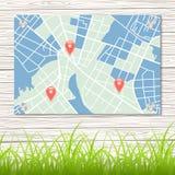 Street map Royalty Free Stock Photos