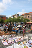 Street market Stock Photography