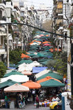 Street market. In Athens, Greece Royalty Free Stock Photo