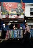 Street Market. Street in Brighton Dirty Harry shop stock photos
