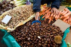 Street market Stock Photos