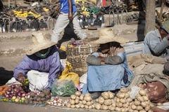Street market, Addis Ababa Stock Photography