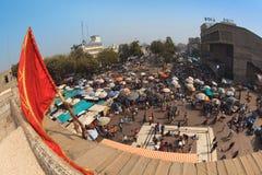 Street market in Ahmedabad Royalty Free Stock Photos