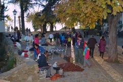 Street market at Alaja (Huelva) 37 Royalty Free Stock Image