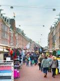 Street market Amsterdam Stock Photography