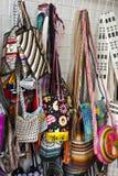Street market - Bags Royalty Free Stock Image