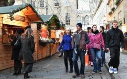 Street Market Stock Image