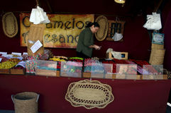 A street market in Carmona 21 Stock Photography