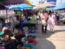Street market. Royalty Free Stock Images