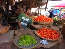 Street market Chuim village Bandra Stock Images