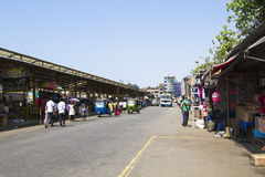 street market, Colombo, Sri Lanka. Royalty Free Stock Photo