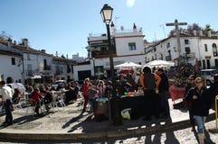 Street market at Fuenteheridos (Huelva) 13 Stock Photo