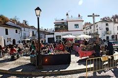 Street market at Fuenteheridos (Huelva) 15 Royalty Free Stock Photos