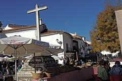 Street market at Fuenteheridos (Huelva) 22 Royalty Free Stock Images