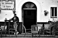 Street market at Fuenteheridos (Huelva) 25 Royalty Free Stock Photography
