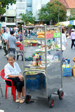 Street Market in Ho Chi Minh City in Vietnam Royalty Free Stock Images