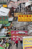 Street market in Hong Kong Royalty Free Stock Photos
