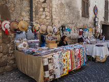 Street market in Italy Stock Images