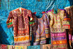 Street market of Jaisalmer fort Stock Photos