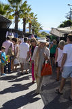 Street market in Marbella Stock Photography