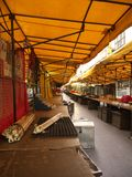 Street market in the morning at Patpong street Royalty Free Stock Photography