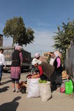 Street market in Osh Royalty Free Stock Photo