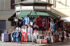 Street market in Roma Stock Image