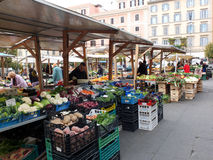 Street market in Rome, Italy Royalty Free Stock Photos