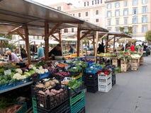 Street market in Rome, Italy Royalty Free Stock Photos