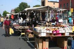 Street Market Scene Stock Images