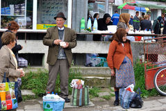 Street market Stock Photo