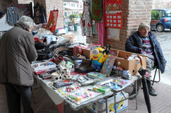 Street market Royalty Free Stock Photography